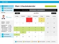 Mitarbeiterkalender