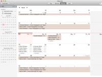 Mac Kalender