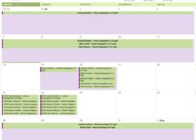 Urlaubskalender in Outlook, Google und Mac OS X
